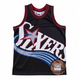 Koszulka Mitchell & Ness NBA Big Face Jersey Philadelphia 76ers