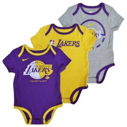 Body dziecięce NBA Los Angeles Lakers 3PAK- EZ2I1BBMK-LAK