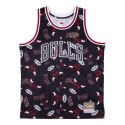 Koszulka Mitchell & Ness Tear Up Pack Jersey Chicago Bulls MSPOBW19081-CBUPTBK