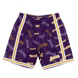 Spodenki Mitchell & Ness NBA Los Angeles Lakers - SHORBW19082-LALPTPR