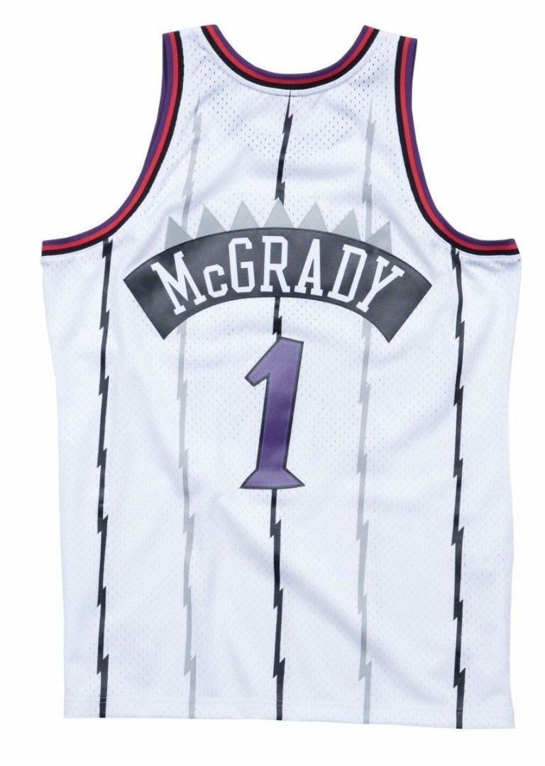 Koszulka Mitchell & Ness NBA Toronto Raptors Tracy McGrady Swingman