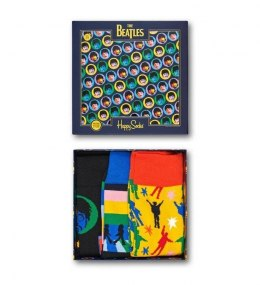 Zestaw Giftbox Skarpetki Happy Socks x The Beatles 3-pak - XBEA08-0100