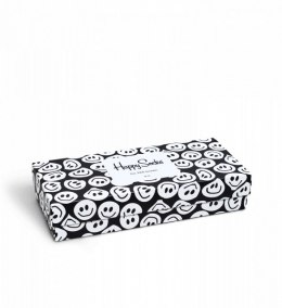 Zestaw skarpetek Giftbox 4-pack skarpetki Happy Socks Black and White - XBLW09-9003