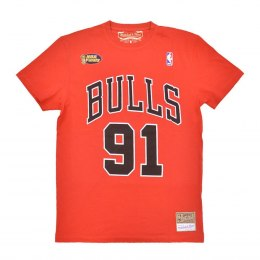 Koszulka Mitchell & Ness NBA Chicago Bulls Dennis Rodman Name & Number