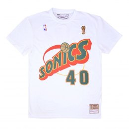 Koszulka Mitchell & Ness NBA Seattle SuperSonics Shawn Kemp Name & Number