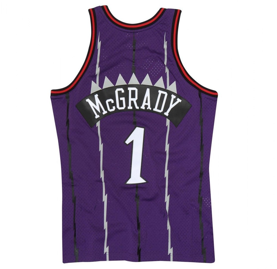 Koszulka Mitchell & Ness NBA Toronto Raptors Tracy McGrady Swingman Jersey
