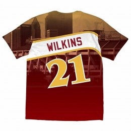 Koszulka City Pride M&N Tee Atlanta Hawks Dominique Wilkins - BMTRKT18007-AHARED1DWI