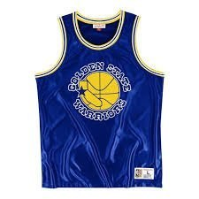 Koszulka Mitchell & Ness Golden State Warriors Dazzle Tank Top - MSTKDF18015-GSWROYA1