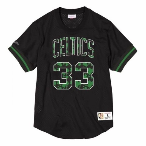 Koszulka Mitchell & Ness NBA Boston Celtics Larry Bird Name & Number Mesh - NNMPMG18062-BCEBLCK86LBI