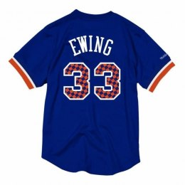 Koszulka Mitchell & Ness NBA New York Knicks Patrick Ewing Name & Number Mesh - NNMPMG18062-NYKROYA96PEW